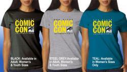 Comic-Con International 2015 Official Logo T-shirt