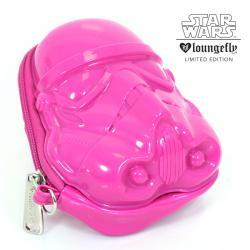Darth Vader Pink Glitter 3D Coin Bag