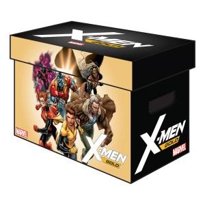 MARVEL GRAPHIC COMIC BOXES X MEN GOLD 300x300 MARVEL GRAPHIC COMIC BOXES X MEN GOLD