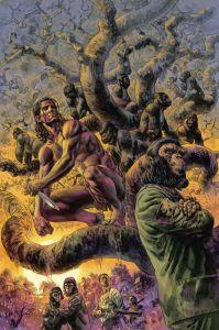 TARZAN ON THE PLANET OF THE APES 1 199x300 TARZAN ON THE PLANET OF THE APES #1
