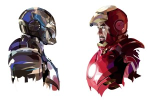 tony stark iron man art hd 300x200 tony stark iron man art hd