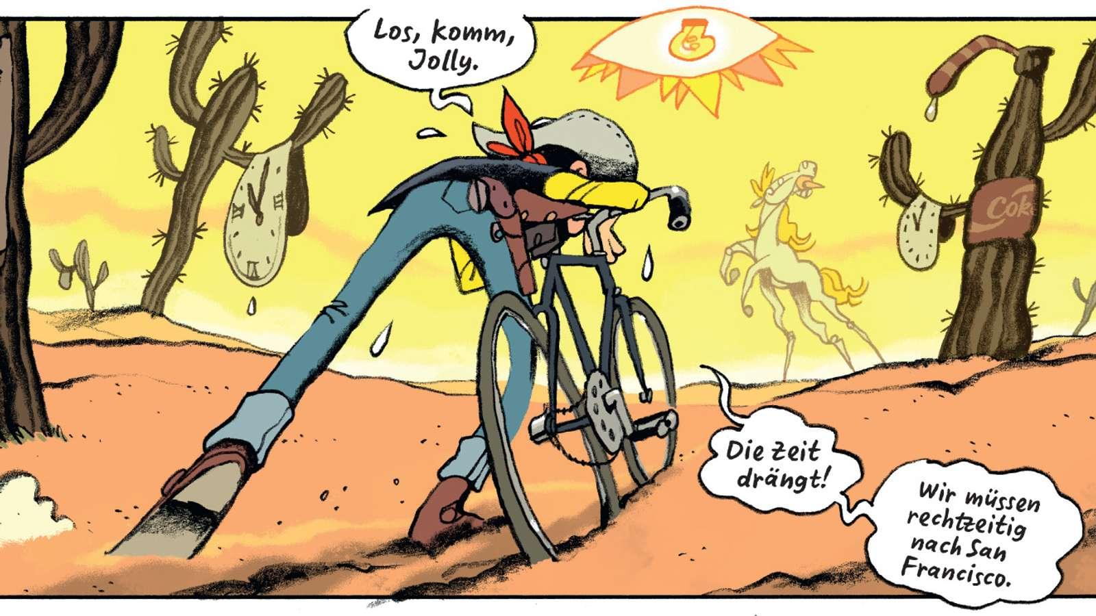 Vector Illustration Cartoon Cyclist Stockfotos Und Bilder Kaufen