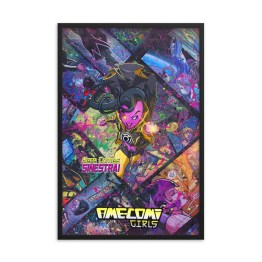 Sinestra – DC AME-COMI Girls Comic Canvas Framed Reproduction Print