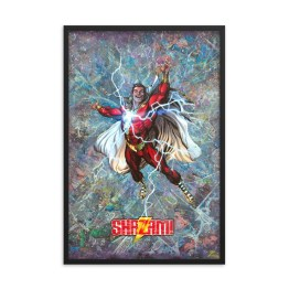 Shazam #1 – Variant Cover – First Edition DC Comic Canvas Framed Print