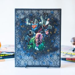 Legion of Doom | Forever Evil | One of A Kind Handmade DC Comic Art Canvas