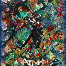 The Joker – Batman #17 Custom Variant Cover – One of A Kind DC Comic Book Canvas