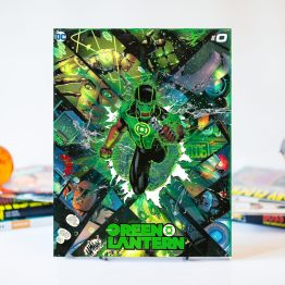 Green Lantern #0 – Simon Baz – One of A Kind DC Custom Variant Canvas