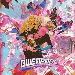 Gwenpool Strikes Back – One of A Kind Marvel Comic Book Canvas