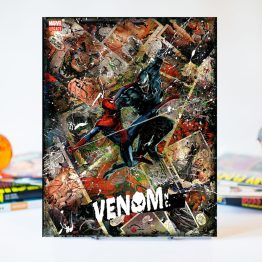 Venom Inc #1 | Adi Granov Variant  | Handmade Marvel Comic Art Canvas