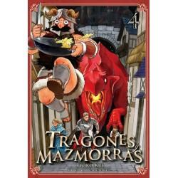 TRAGONES Y MAZMORRAS, VOL. 4