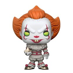Stephen King's It POP! Movies Vinyl Figura Pennywise (with Boat) 9 cm