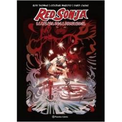Red Sonja: La balada de la Diosa Roja (creación propia)