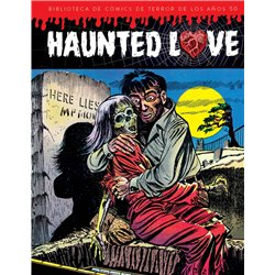 HAUNTED LOVE. BIBLIOTECA DE COMICS DE TERROR DE LOS AÑOS 50