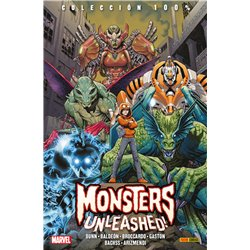 MONSTERS UNLEASHED! LA COLECCIÓN COMPLETA