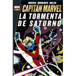CAPITAN MARVEL. LA TORMENTA DE SATURNO (MARVEL GOLD)