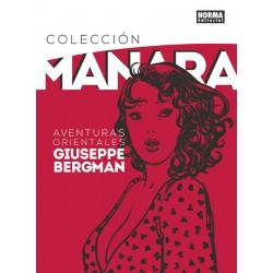 COLECCIÓN MILO MANARA 6. AVENTURAS ORIENTALES DE GIUSEPPE BERGMAN