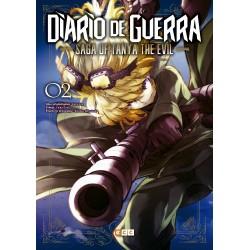 DIARIO DE GUERRA - SAGA OF TANYA THE EVIL NÚM. 02