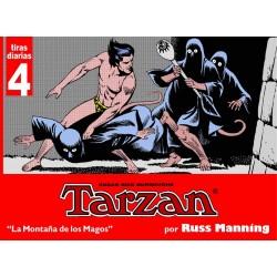TARZAN - TIRAS DIARIAS 4 LAS MONTAÑAS DE LOS MAGOS