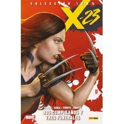 X-23 01. DOS CUMPLEAÑOS Y TRES FUNERALES
