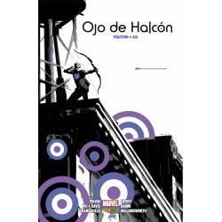 OJO DE HALCON DE MATT FRACTION Y DAVID AJA