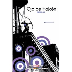 OJO DE HALCON DE MATT FRACTION Y DAVID AJA