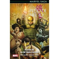 EL INMORTAL PUÑO DE HIERRO 05. HUIDA DE LA OCTAVA CIUDAD (MARVEL SAGA 78)