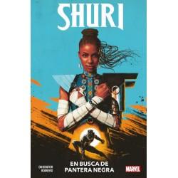SHURI 01. EN BUSCA DE PANTERA NEGRA