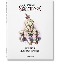 Robert Crumb. Sketchbook, Vol. 1: 1964–1968