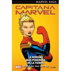 CAPITANA MARVEL 01: LA HEROÍNA MÁS PODEROSA DE LA TIERRA (MARVEL SAGA 83)