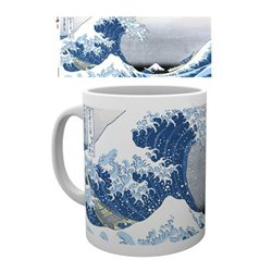 Japanese Art Taza Great Wave by Utagawa Hiroshige