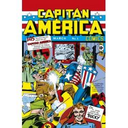 MARVEL FACSIMIL 13. CAPTAIN AMERICA COMICS 01