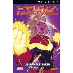 CAPITANA MARVEL 05: LIBERAD A FLERKEN (MARVEL SAGA 97)