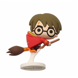 HARRY POTTER NIMBUS CAPA ROJA MINI FIGURA GOMA HARRY POTTER
