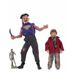 SLOTH & CHUNK PACK 2 FIGURAS 20-13 CM GOONIES CLOTHED ACTION FIGURE