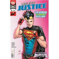 YOUNG JUSTICE NÚM. 16