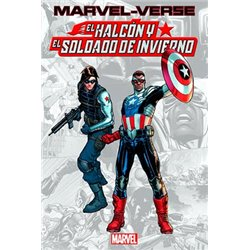 MARVEL-VERSE. EL HALCON Y EL SOLDADO DE INVIERNO