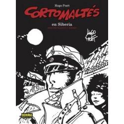 CORTO MALTES. EN SIBERIA( B/N)
