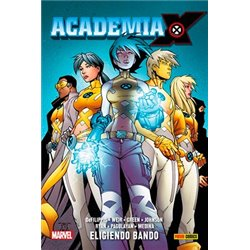 ACADEMIA X 01. ELIGIENDO BANDO
