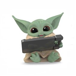 THE CHILD BABY TABLET FIGURA 5,5 cm STAR WARS THE BOUNTY COLLECTION