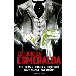 Estudio en esmeralda (novela gráfica)