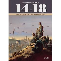 14-18 VOL. 5 (JULIO Y NOVIEMBRE DE 1918)