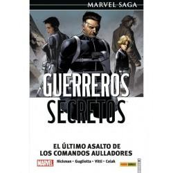 GUERREROS SECRETOS 04. EL ULTIMO ASALTO DE LOS COMANDOS AULLADORES (MARVEL SAGA 124)