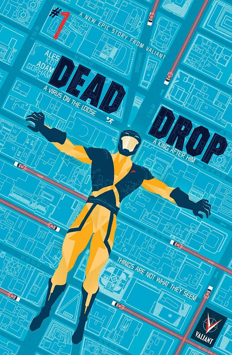 First Look Dead Drop 1 By Kot Amp Gorham