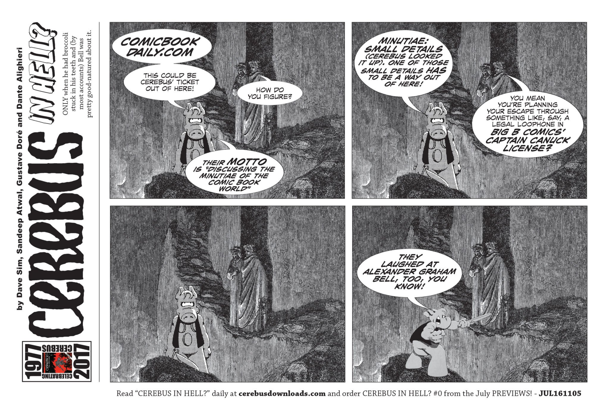 Cerebus In Hell - Comic Book Daily