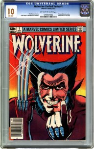 Wolverine-Limited-Series-issue-1-CGC-10 Raw Comics VS Slabbed Books: Devil's Advocate