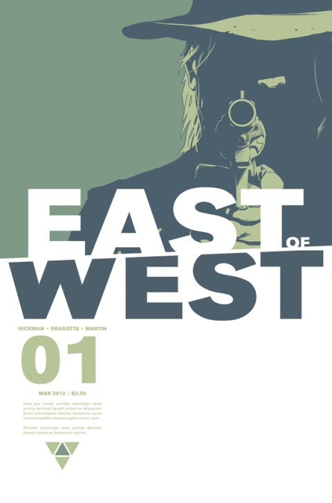 East of West #1 cover