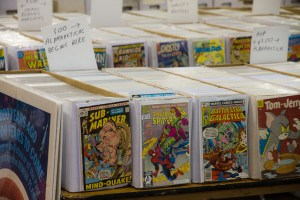 comic bins