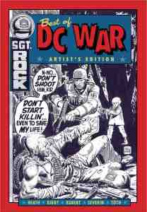 Best of DC War Artist's Edition cover prelim