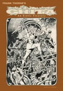 Frank Thorne's Ghita, An Erotic Treasury Archival Edition cover prelim