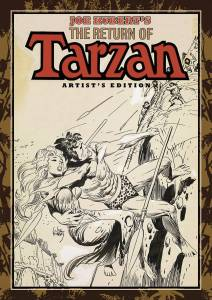 Joe Kubert's The Return Of Tarzan Artist's Edition cover prelim